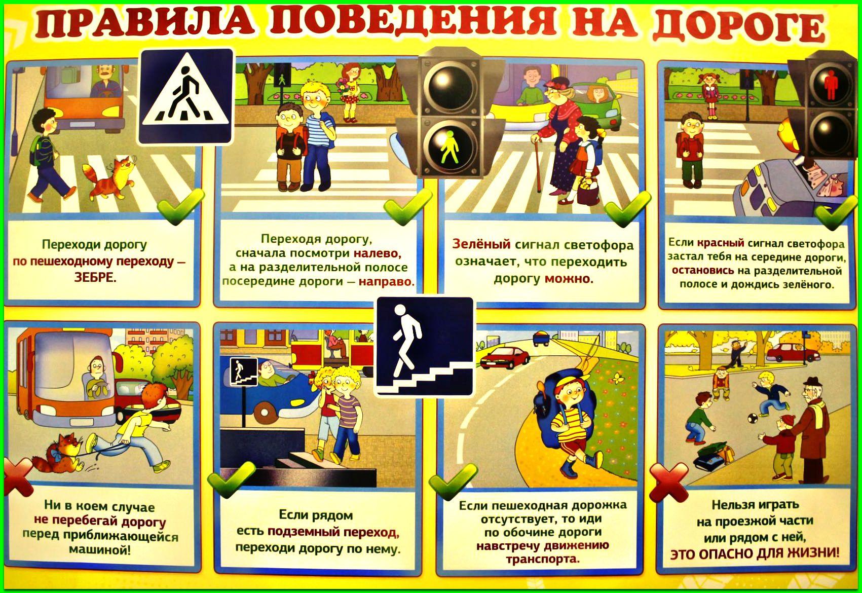 Правила поведения на дороге